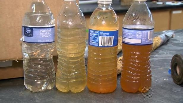 According to a new medical research study, fetal death rates increased by 58 percent in Flint after the city switched its water source in April 2014. (CBS NEWS)