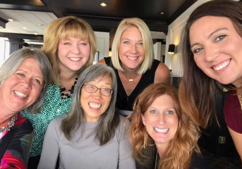 "Members of the 100 Strong Billings ""vision team"" are, left to right, Karen Grosz, Julie Koerber, Stella Fong, Haley Vannatta, Julie Seedhouse and Jessica Baldwin."