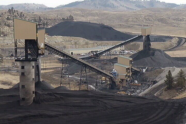Signal Peak coal mine in Roundup. (MTN News)