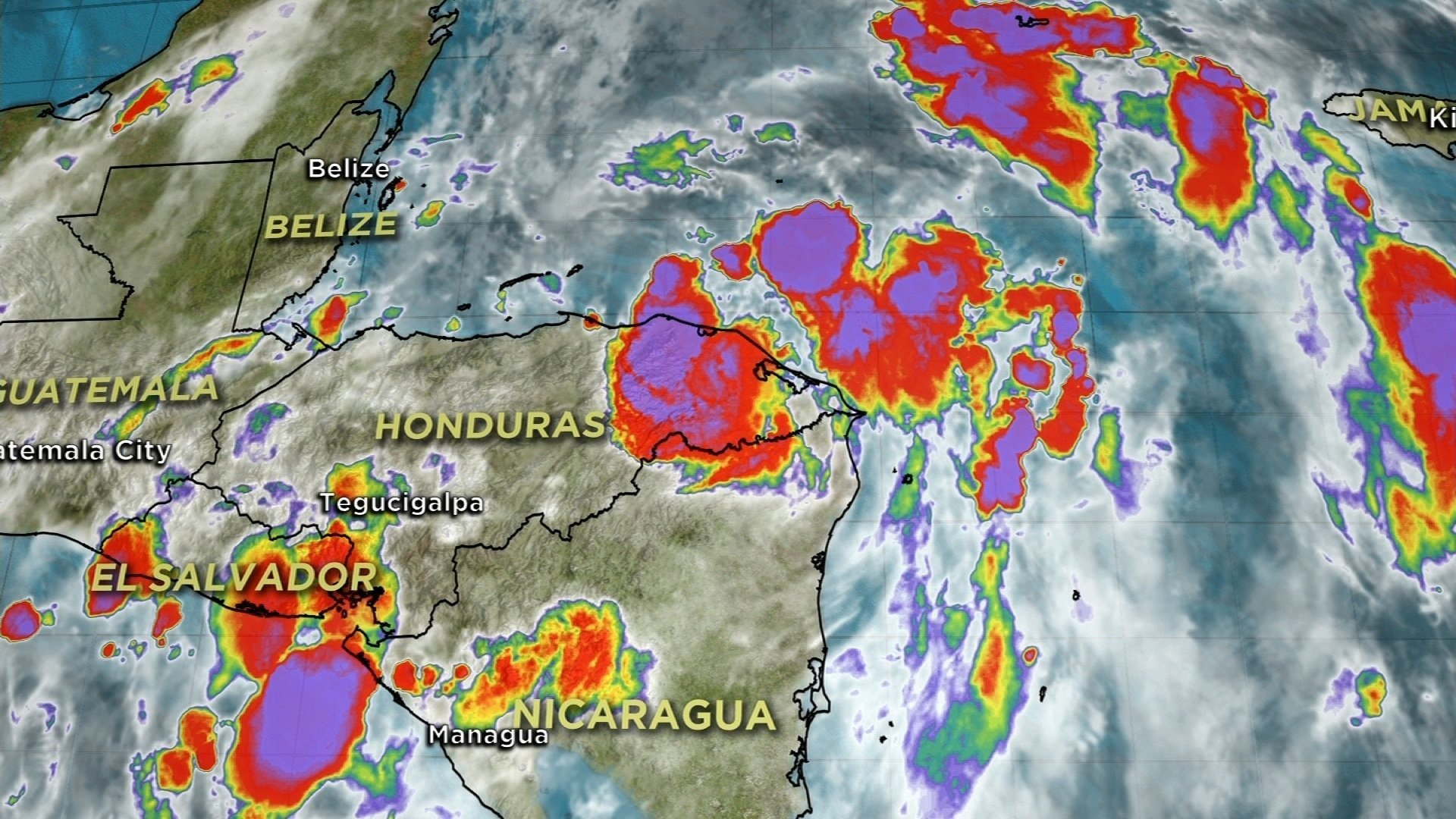 After battering portions of Central America, Tropical Storm Nate is expected to reach the US Gulf Coast this weekend as a hurricane. courtesy of CNN.