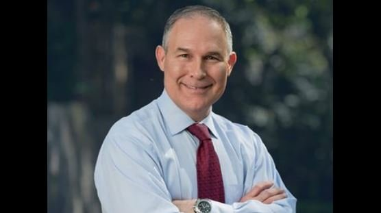 Scott Pruitt is the head of the Environmental Protection Agency (EPA).