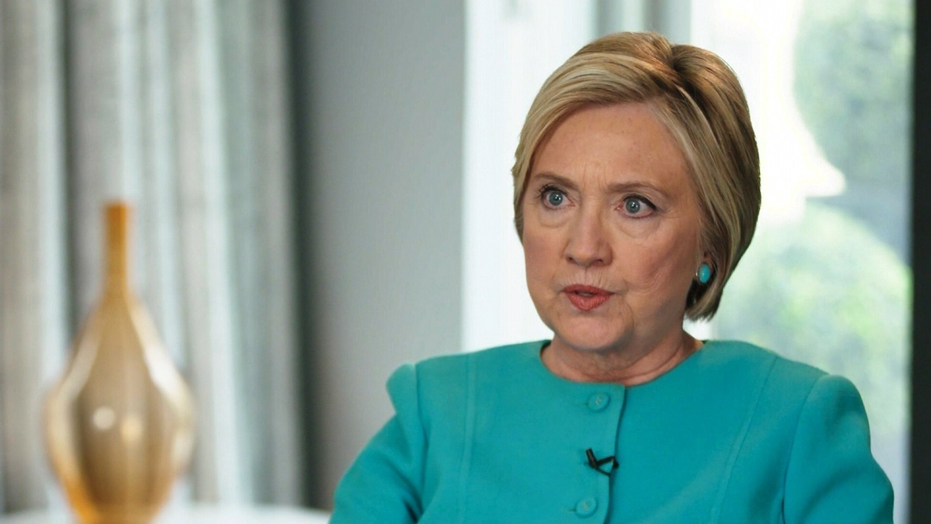 Hillary released a statement condemning major Democratic donor Harvey Weinstein. photo courtesy of CNN.