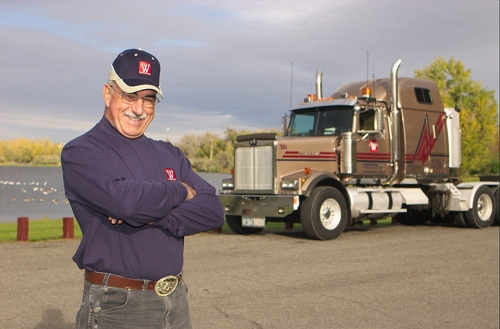 Spiekermeier has traveled over 1.6 million miles without incident (Whitewood Transport)