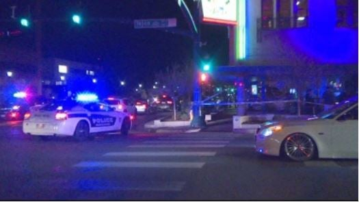 A soldier from Fort Carson was shot after a fight outside a Colorado Springs bar, police said.  CBS DENVER