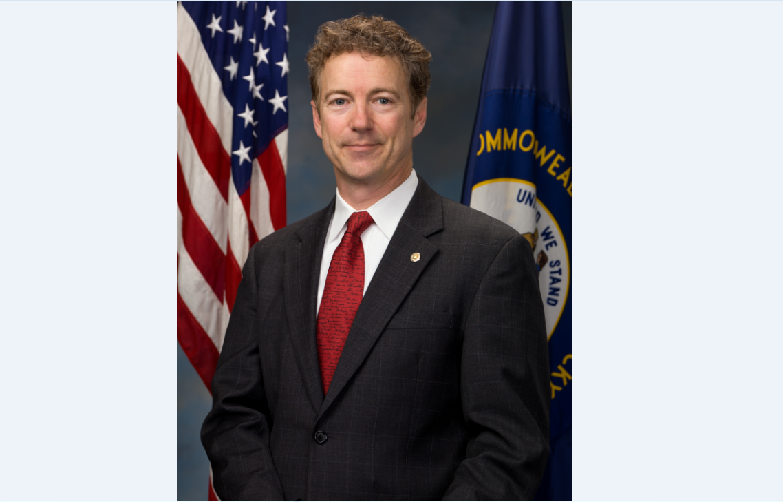 Sen. Rand Paul, R-Ky. courtesy of Paul's office.