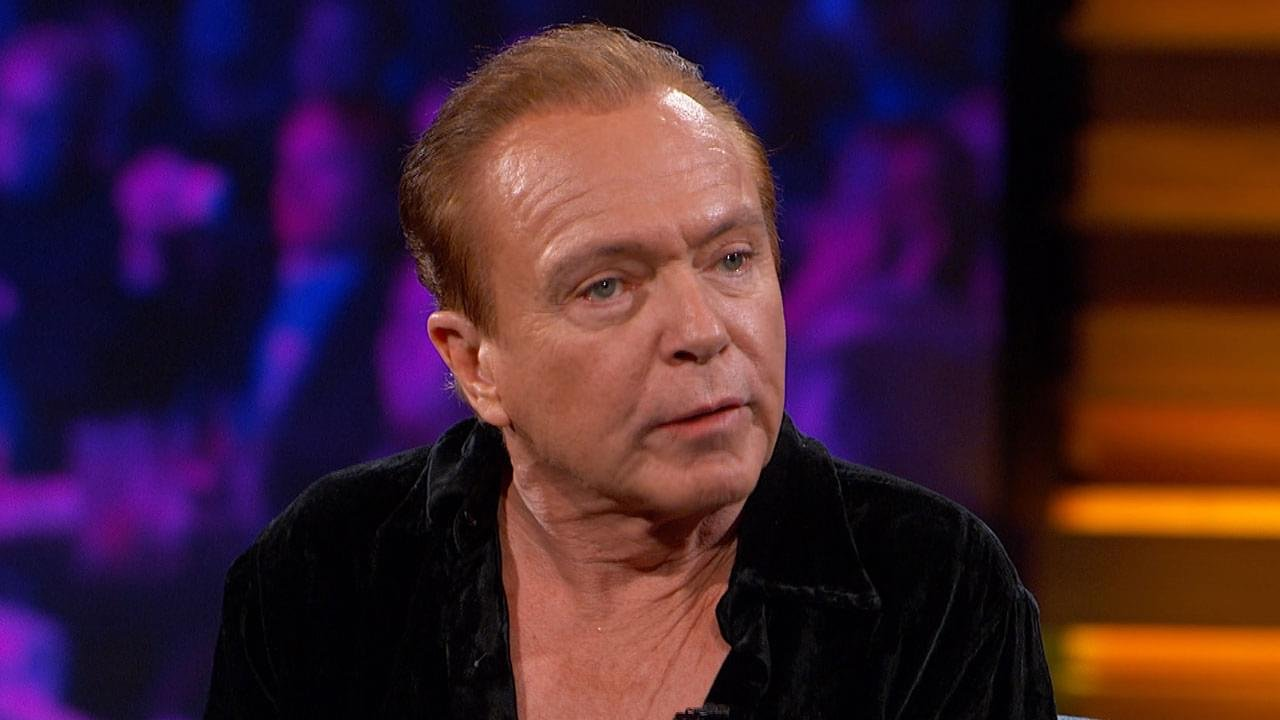 David Cassidy. courtesy of Dr. Phil.