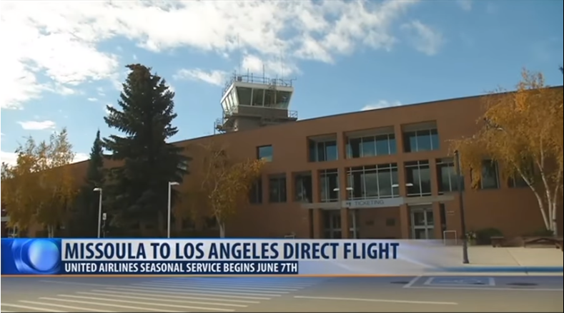 United Airlines to Offer Direct Service from Kalispell to Los Angeles