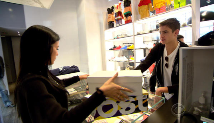 With consumer confidence up, sales on Black Friday are expected to be up about six percent. CBS NEWS