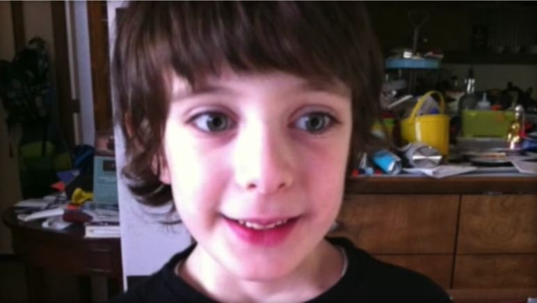 George Yionoulis, 9, created a viral YouTube video to explain his experience with autism.  YOUTUBE/LISA JOLLEY