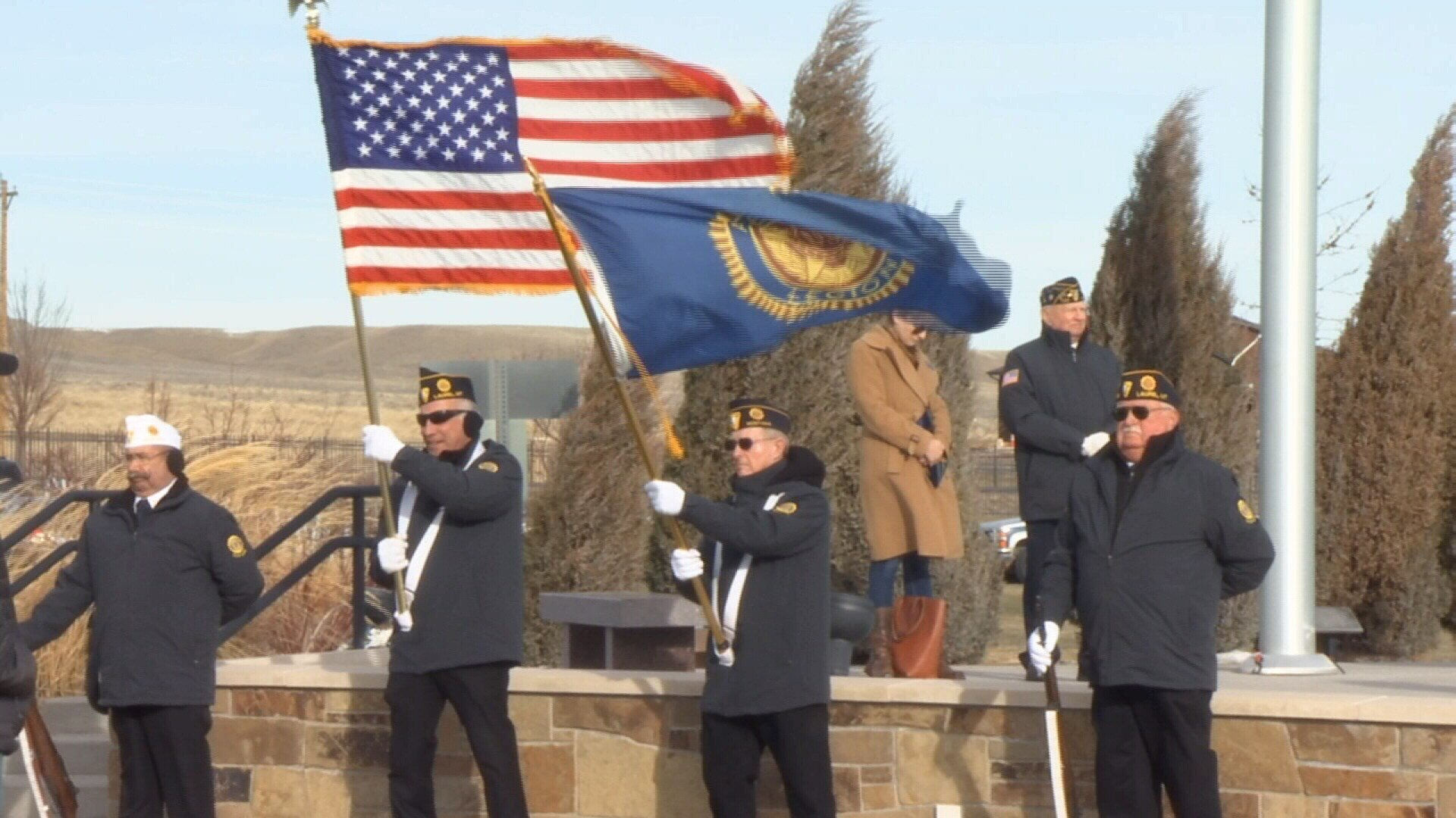 Pearl Harbor Day ceremony held at Yellowstone National Cemetery (MTN News/Brandon Sullivan Photo)