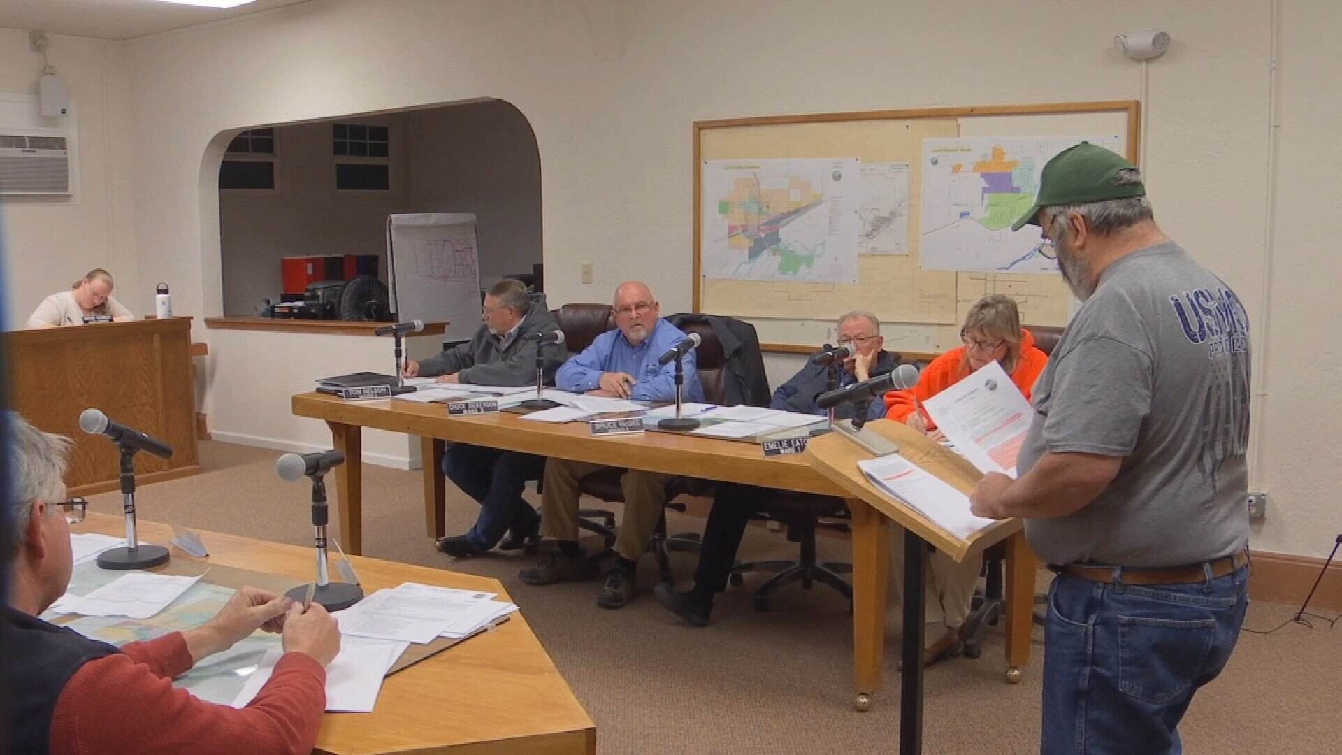 Laurel city council discussed the issue on November 28. (MTN News Photo)
