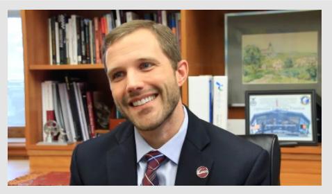 University of Montana President Seth Bodnar. MTN News.