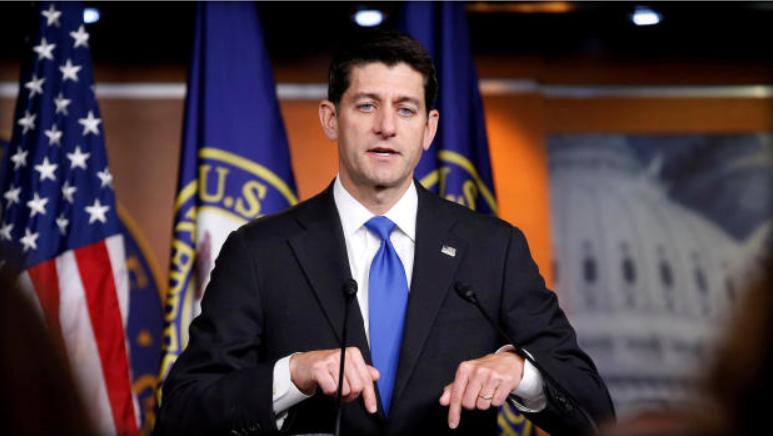 Speaker of House Paul Ryan.