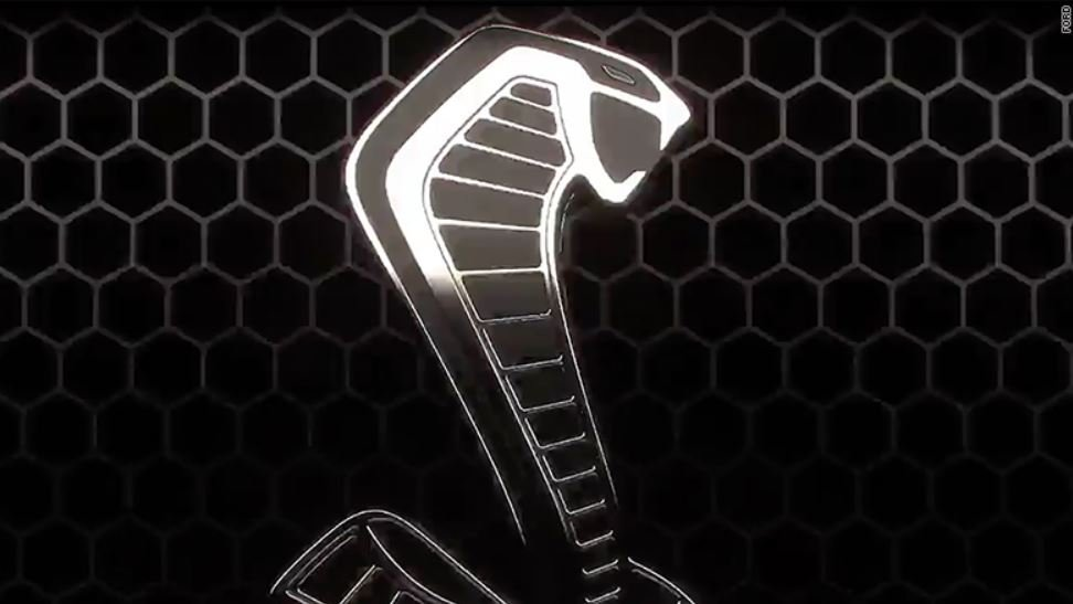 Details such as the Cobra logo are all Ford has revealed so far about the new Shelby GT500.