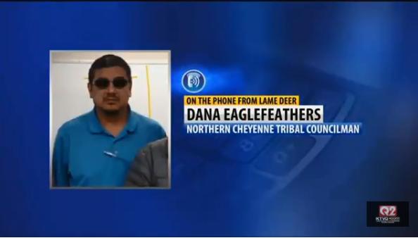 Dana Eaglefeathers. MTN News
