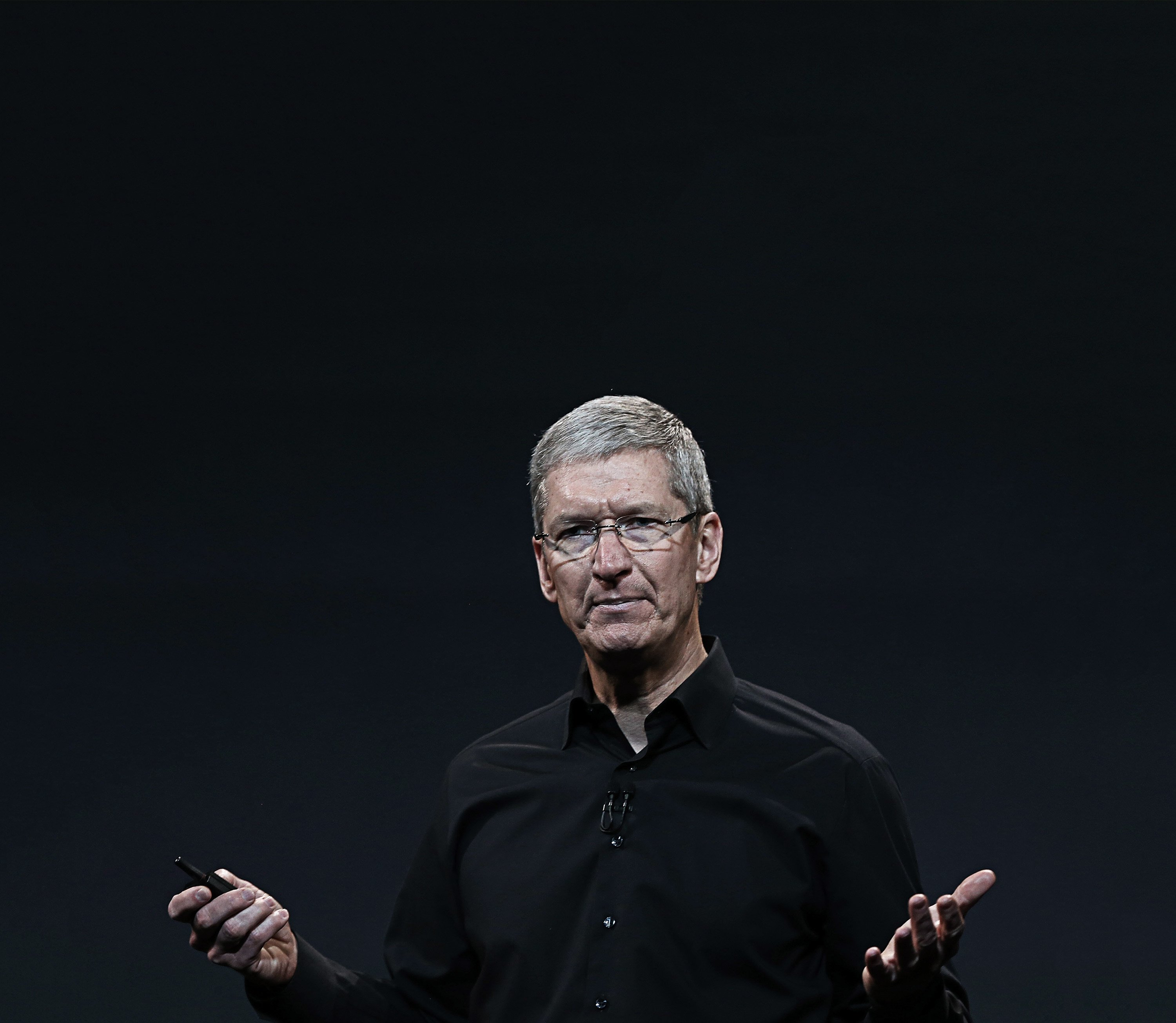 Apple CEO Tim Cook. courtesy of Apple.