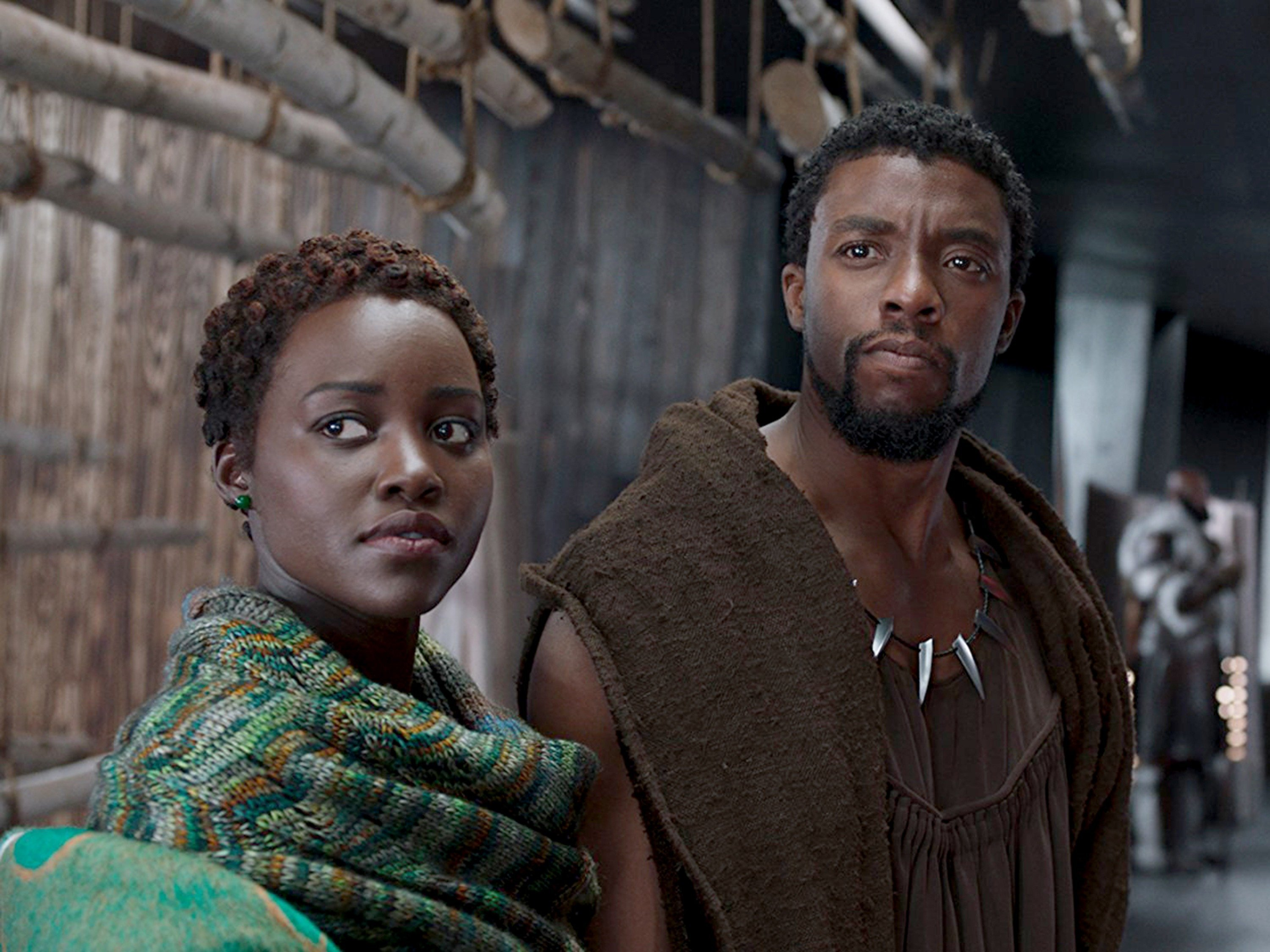 """Black superheroes have reached the screen before, but seeing the collective weight of Marvel/Disney thrown behind a blockbuster like """"Black Panther"""" still feels like a cultural watershed, one that the movie exuberantly embraces. courtesy Marvel Studios."""