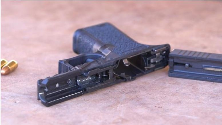 Ghost guns have to be assembled / CBS NEWS