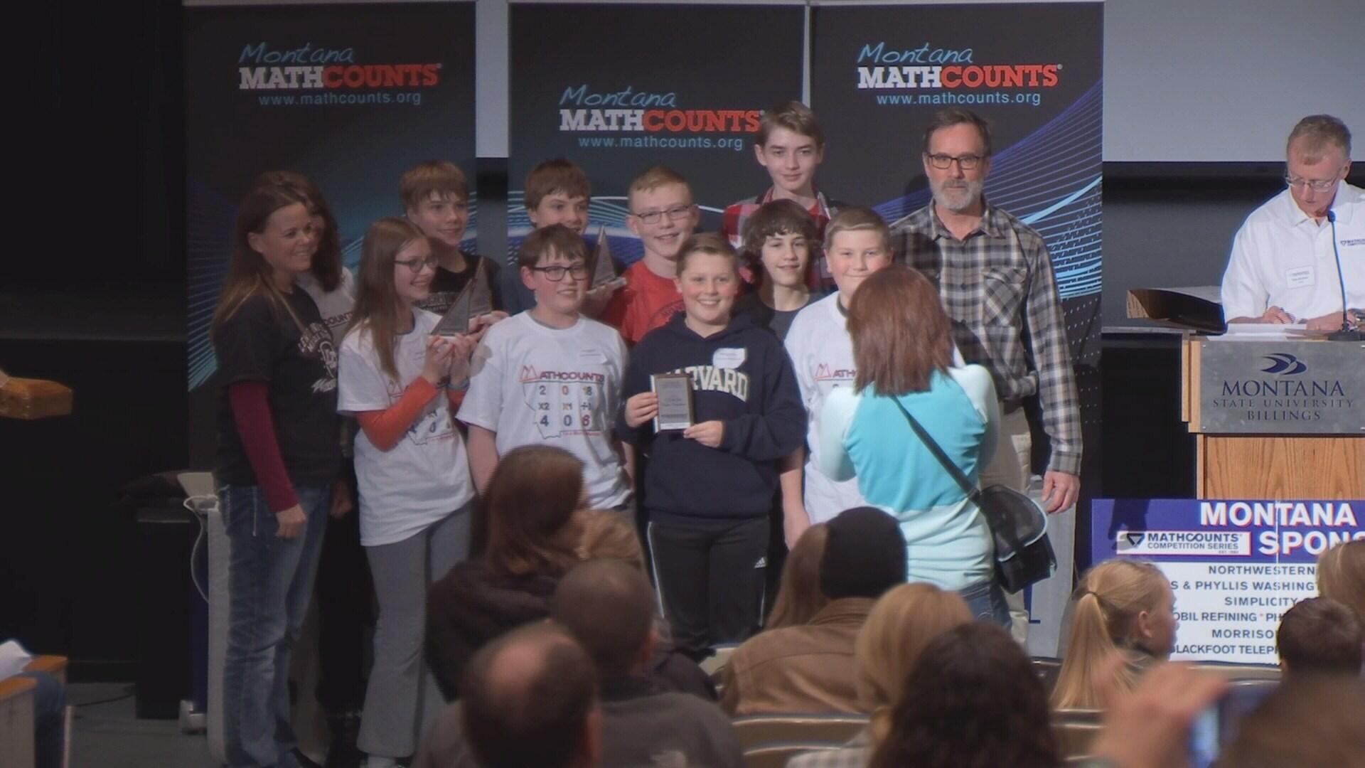 Lewis & Clark Middle Schoool wins Billings region MatchCounts competition.