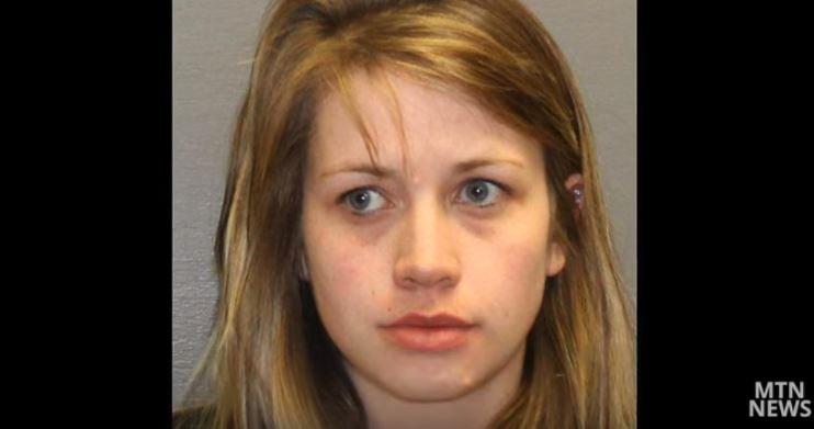 Jessica Kay Johnson  (Cascade County jail booking photo)