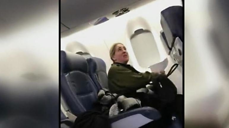 A video of air passenger Susan Peirez talking back to a Delta flight attendant has been viewed nearly two million times. / CBS NEWS