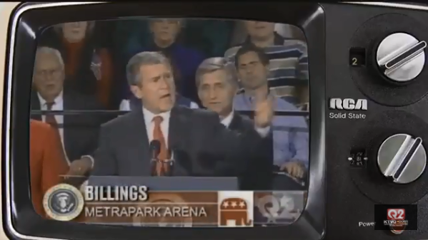 President George W. Bush visited Billings in 2001. Q2 News