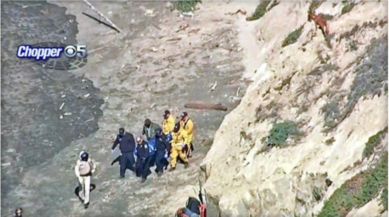 Man falls from cliff, dies while trying to rescue dog