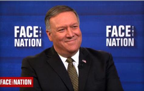 CIA Director Mike Pompeo. CBS News.