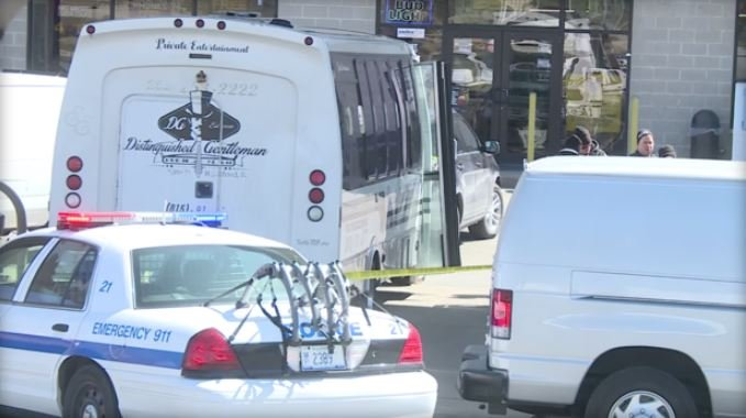Charter bus shooting leaves 3 dead, suspect at large