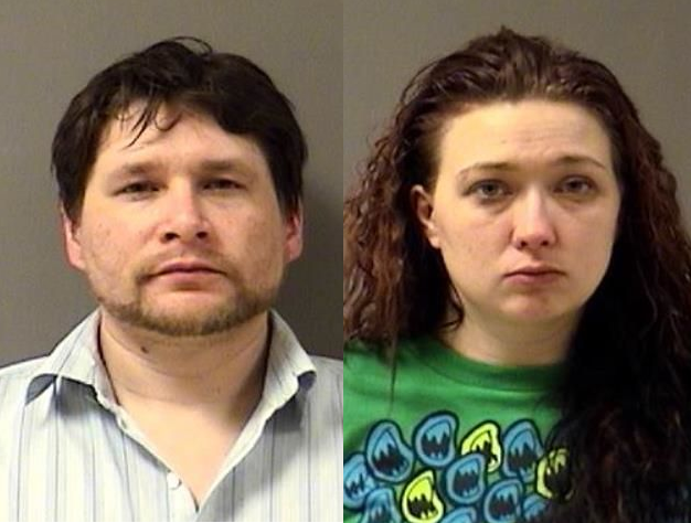 Kroll (left) and Delao (right) are charged with over a dozen drug-related charges (YCDF)