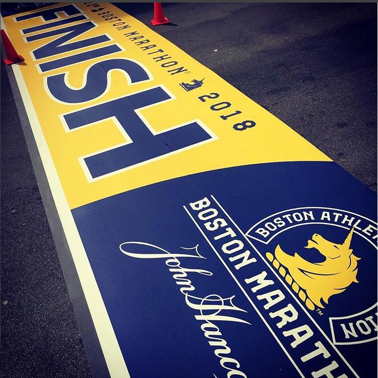Courtesy Boston Marathon Instagram