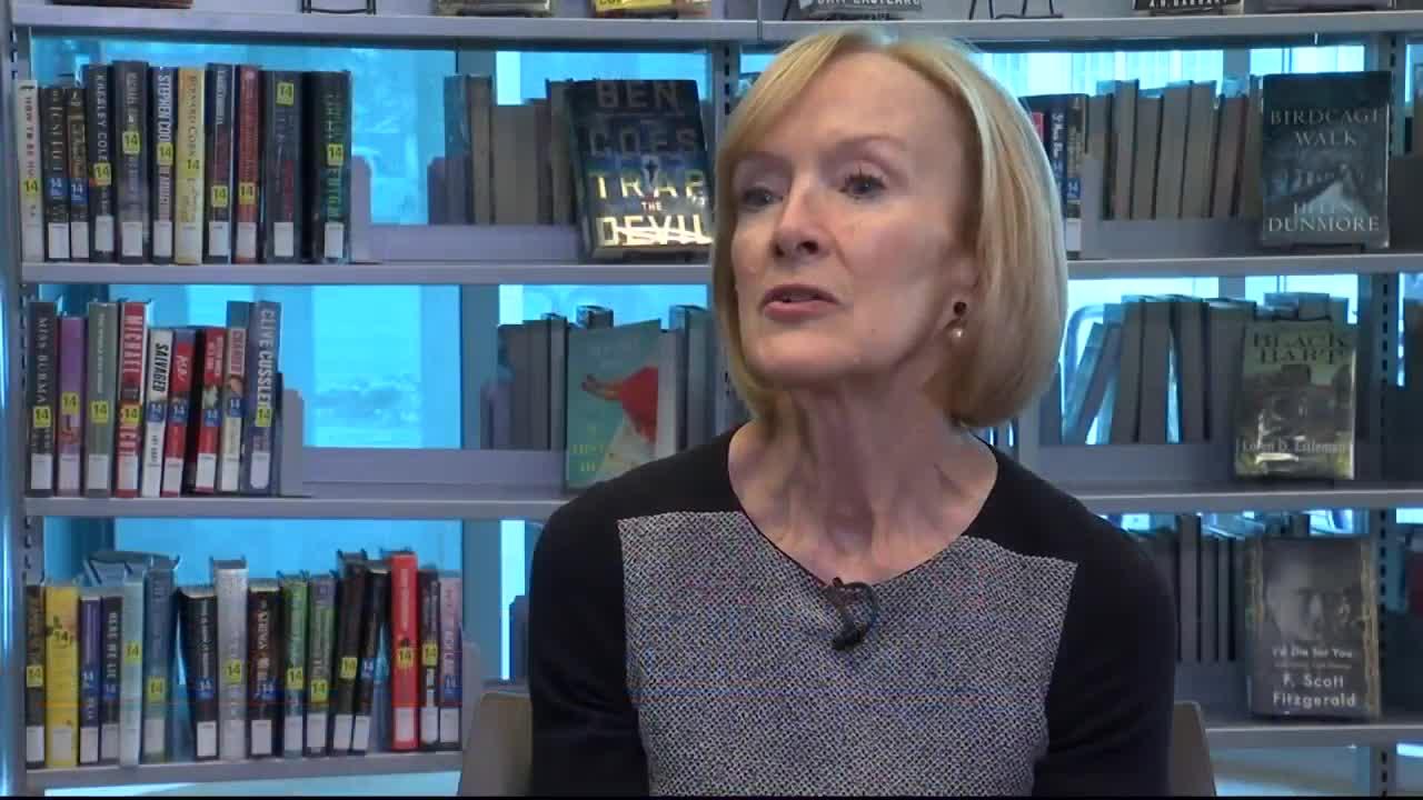 Judy Woodruff. MTN News photo.