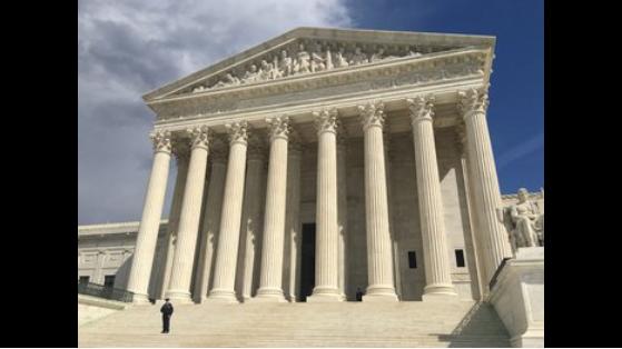 U.S Supreme Court building. CNN photo.