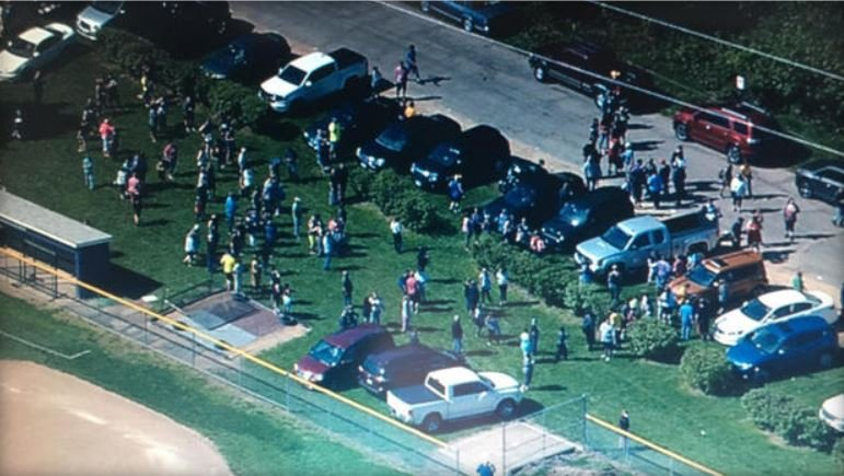 #BREAKING: Shooting at Dixon High School; one in custody""