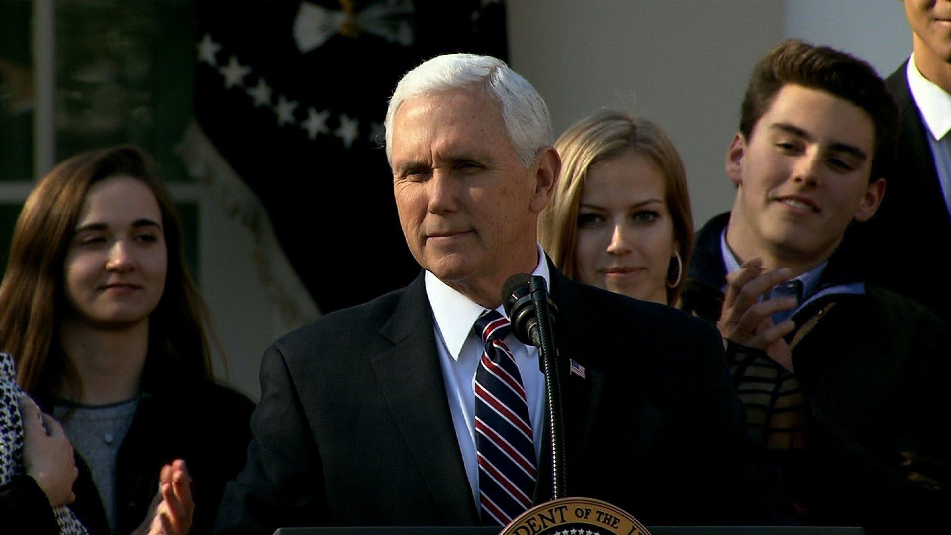 Vice President Mike Pence. CNN photo