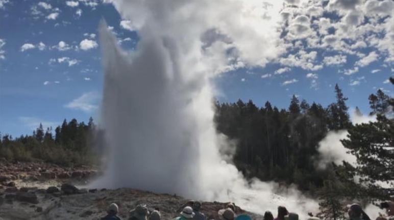 Steamboat geyser. CBS News.