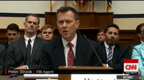 FBI Agent Peter Strzok. CNN.
