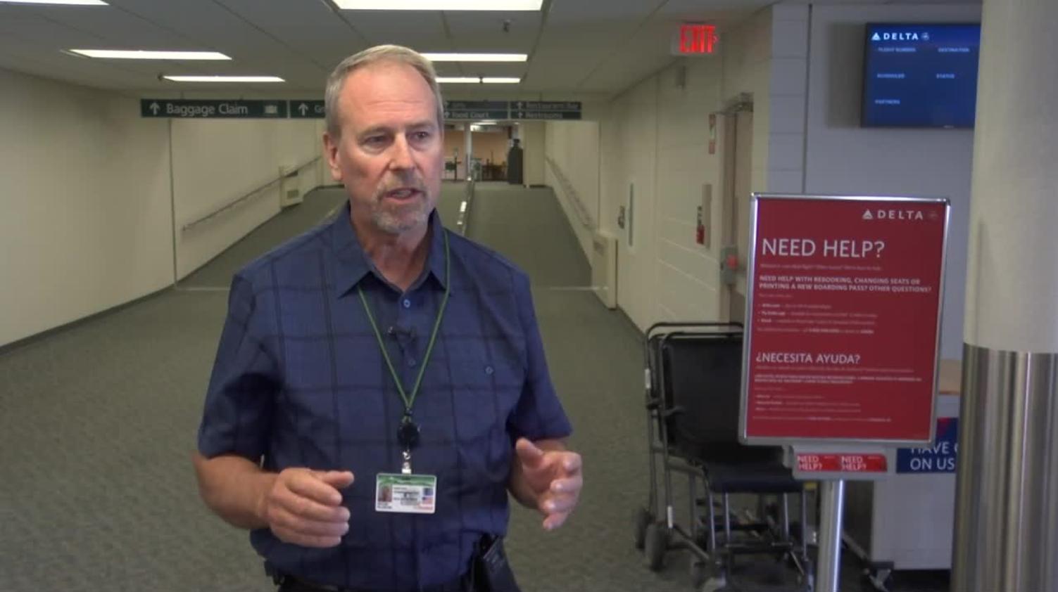 Kevin Ploehn, airport director. Q2 News photo.