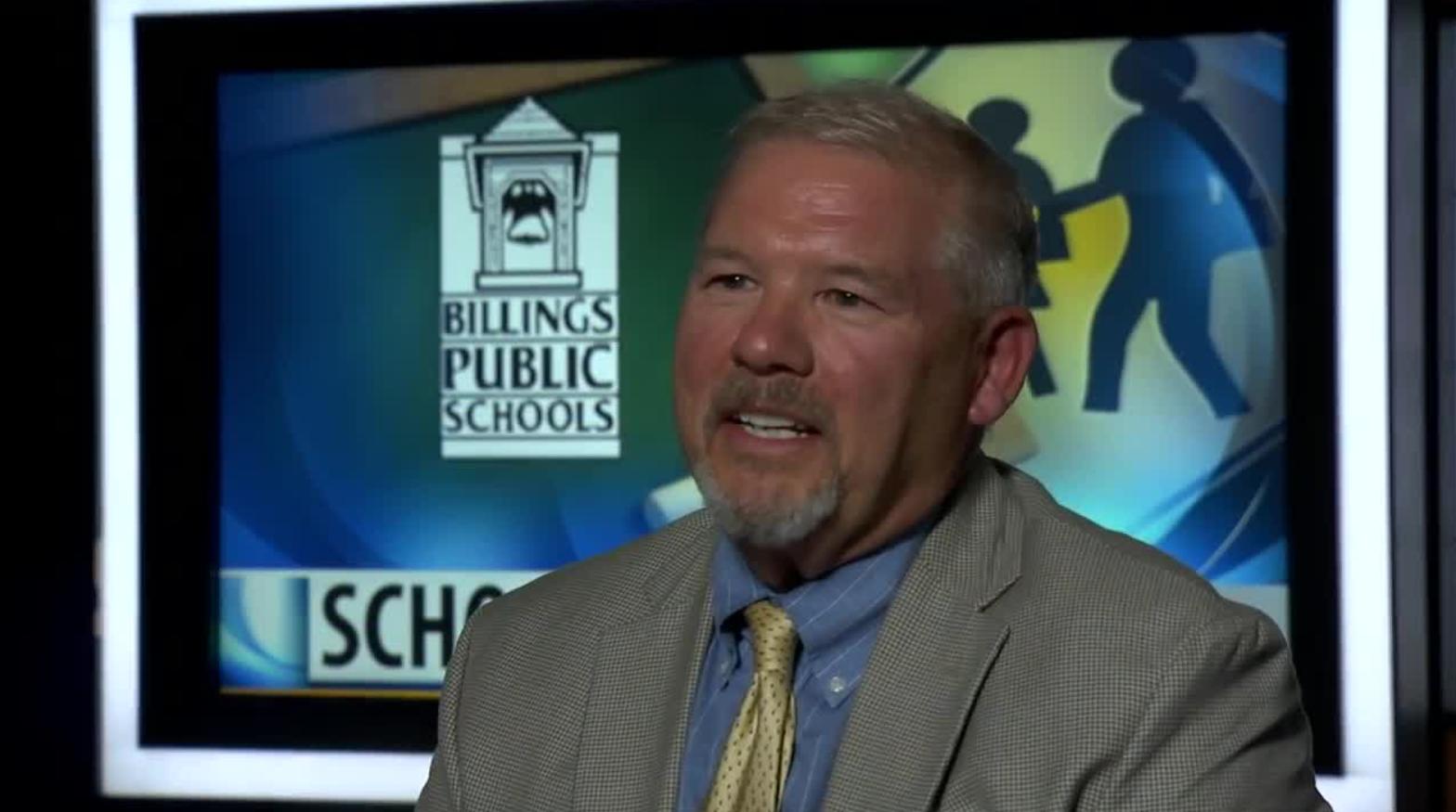 Billings SD2 Superintendent Greg Upham. MTN News.