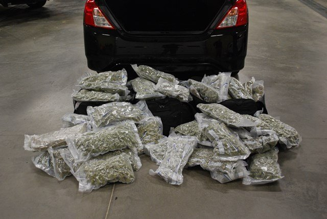 The seized marijuana from this first stop has an estimated street value of $300,000. (County 10)
