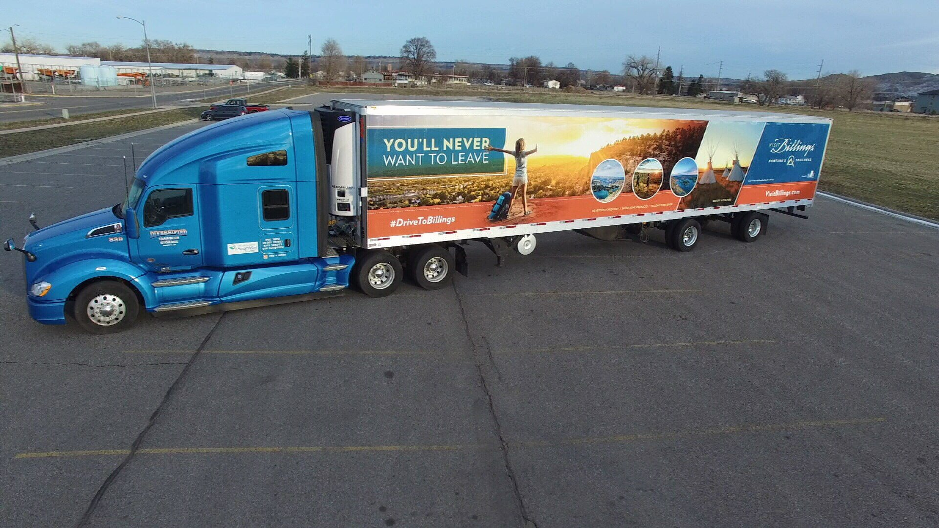 visit billings rolls out semi truck marketing campaign to spur t