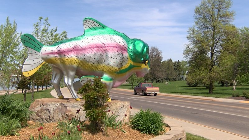 Rainboffalo returns to river 39 s edge trail for Bison motors great falls