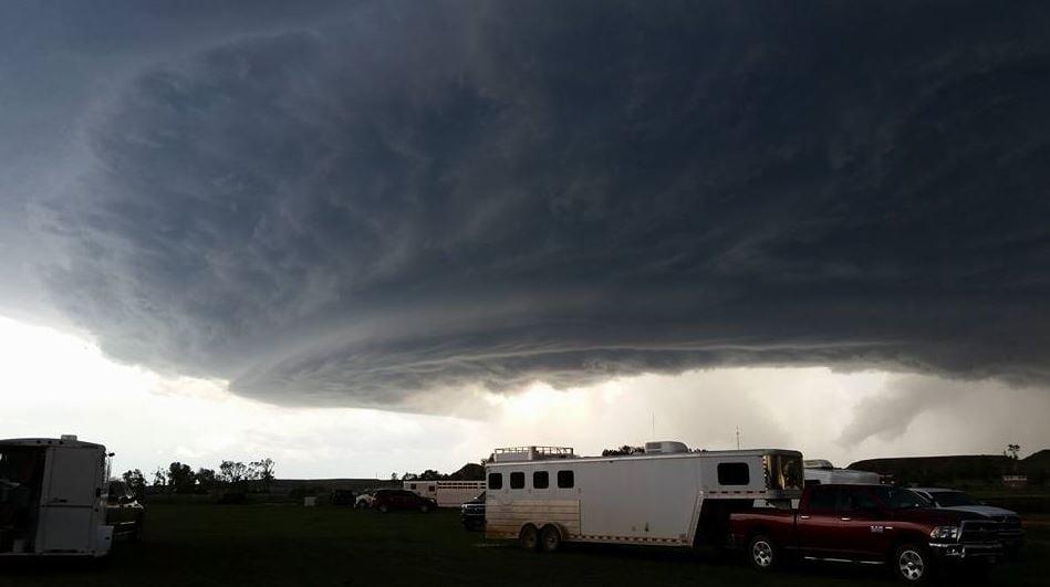hail storm left path of destruction across eastern montana