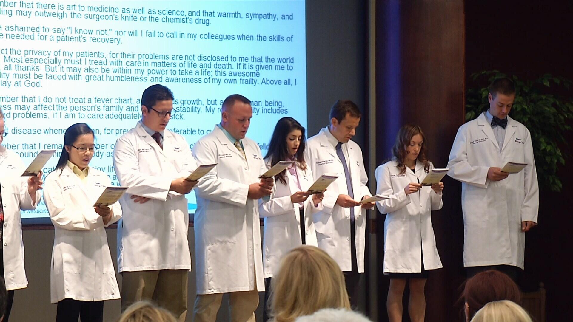 Billings Clinic residents take steps in career at White Coat Cer ...