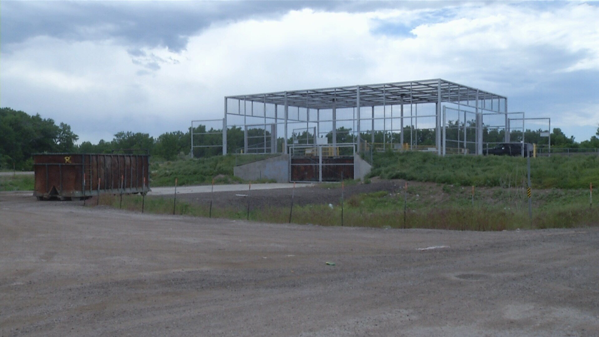 Montana big horn county wyola - Waste Pick Up Site In Lodge Grass Is One Of Three Sites Owned By Big Horn