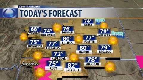 Q2 Weather Temperatures Drop Tuesday And Again Wednesday