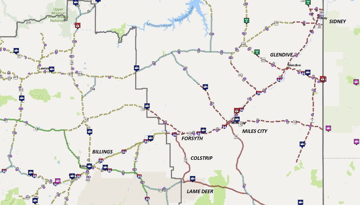 Ie From I To Us Construction University Of North Texas Us Map Of Road Conditions