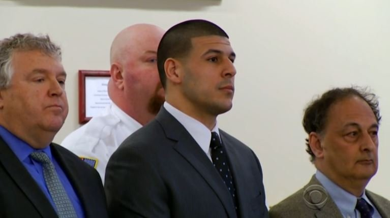 Image result for Authorities say Aaron Hernandez commits suicide in Massachusetts prison