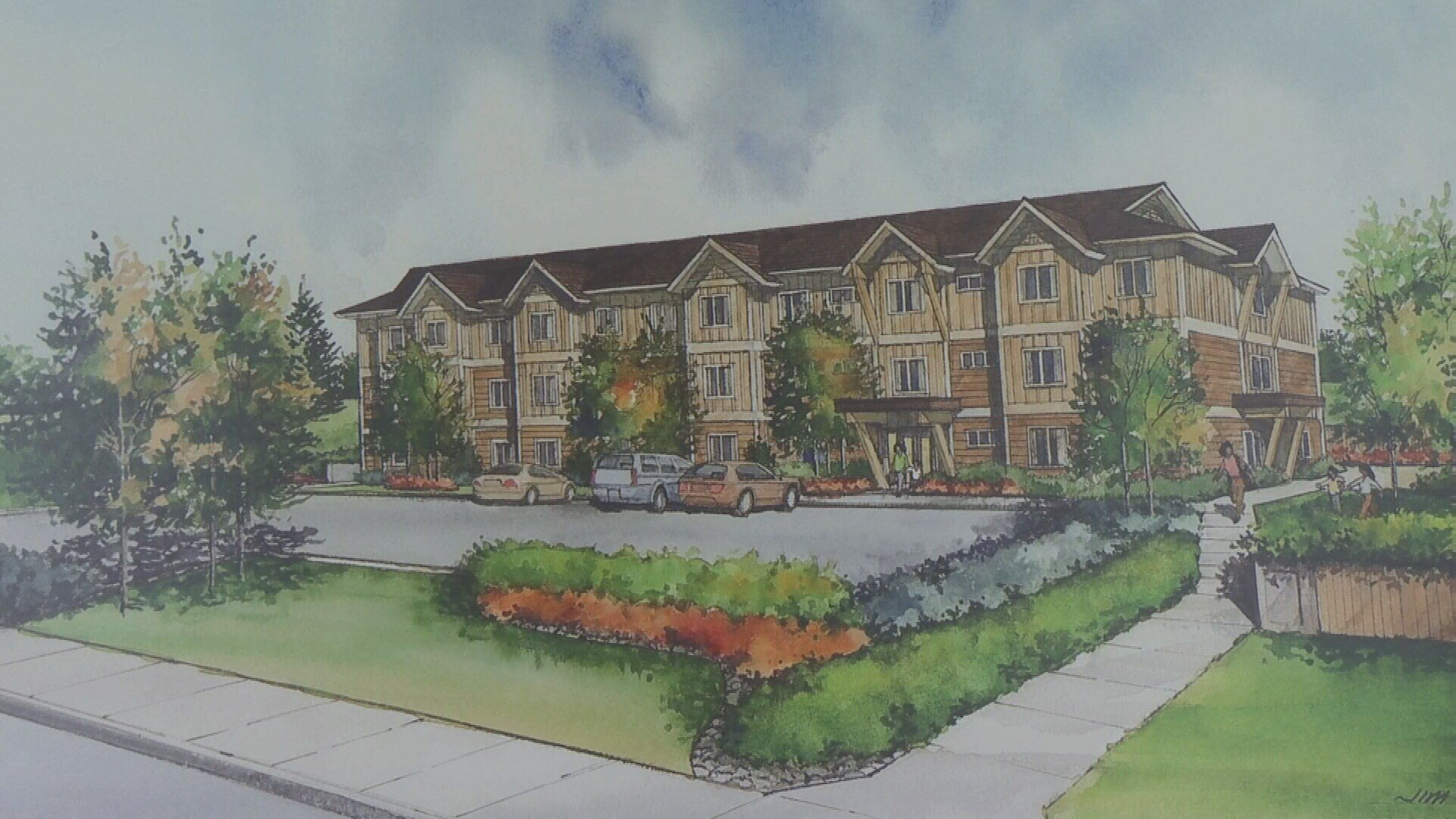 Groundbreaking on billings transitional living facility for vict krtv news in great falls montana - The living room great falls mt ...