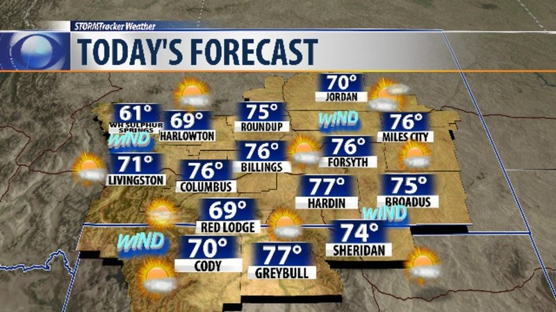 Q2 Weather Breezy Wednesday But Overall Nice Ahead Kpax